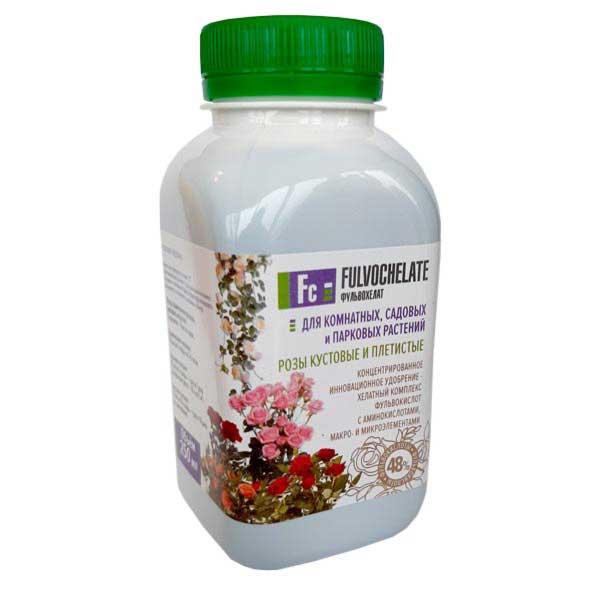 Фульвохелат Для роз 48% фульвокислот 0.25л
