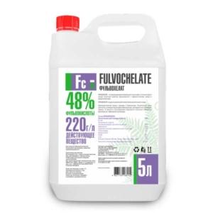 ФУЛЬВОХЕЛАТ Активатор роста растений 48% фульвокислот 5л